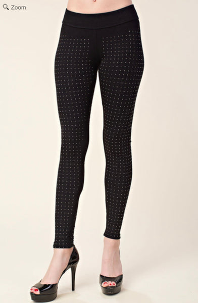 VOCAL IM1075P All Over Studs Legging