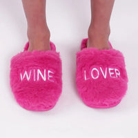LA TRADING CO BEL AIR SLIPPERS - Wine Lover (Pink)