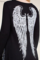 VOCAL 13494L Bling Wings Top