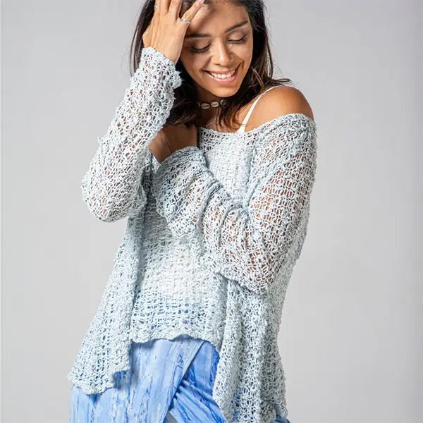 HANDS TO HEART 300646 Crocheted Long Sleeve Soul Warmer