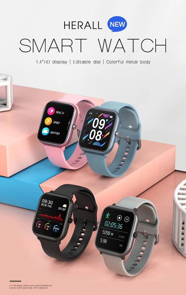 Unisex Heart Rate Monitor Smart Watches - Fashion, Beauty, Home & Garden & More @Nesavastore