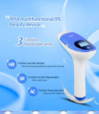 Mlay 3in1 IPL Epilator Permanent Hair Removal 500000 Flashes  - Fashion, Beauty, Home & Garden & More @Nesavastore