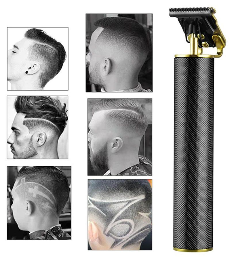 USB Rechargeable Ceramic Barber Style Hair Trimmer - Fashion, Beauty, Home & Garden & More @Nesavastore