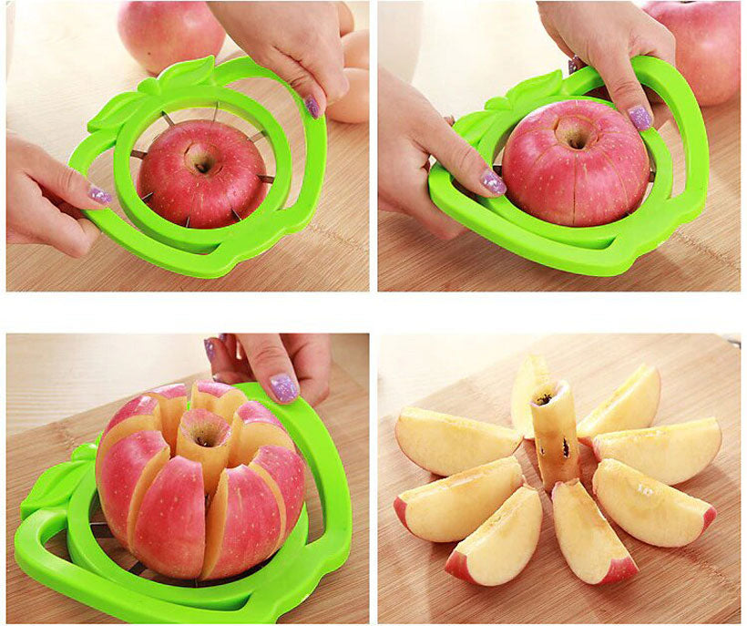 Kitchen Apple Slicer Cutter Pear Fruit Divider Tool - Fashion, Beauty, Home & Garden & More @Nesavastore