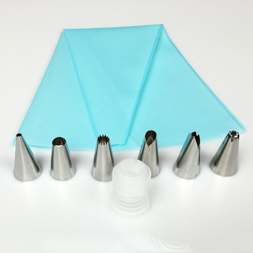Silicone Decorating Icing Piping Cream Pastry Bag - Fashion, Beauty, Home & Garden & More @Nesavastore