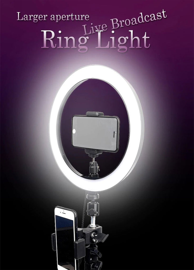 LED Ring Dimmable Photo Studio Light - Shop Electronics, Fashion, Beauty, Home & Garden & More @Nesavastore