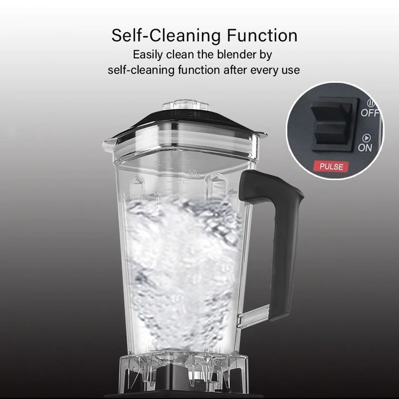 3HP 2200W Heavy Duty Commercial Grade Automatic Timer Blender - Fashion, Beauty, Home & Garden & More @Nesavastore