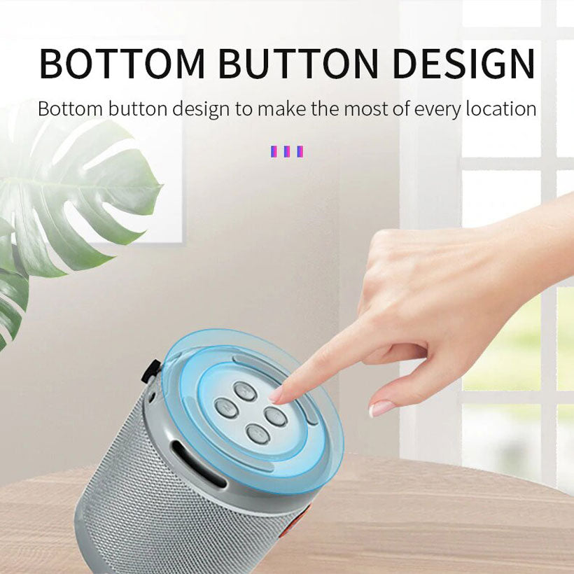 Portable Outdoor Bluetooth Small Subwoofer Speaker - Shop Electronics, Fashion, Beauty, Home & Garden & More @Nesavastore