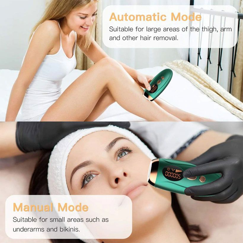 IPL Hair Removal Professional Permanent Laser Epilator - Fashion, Beauty, Home & Garden & More @Nesavastore