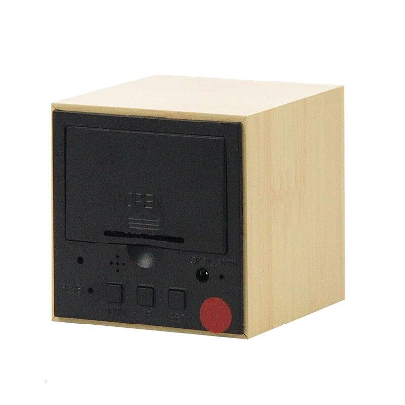 LED Voice Control Wooden Digital Alarm Clock - Fashion, Beauty, Home & Garden & More @Nesavastore