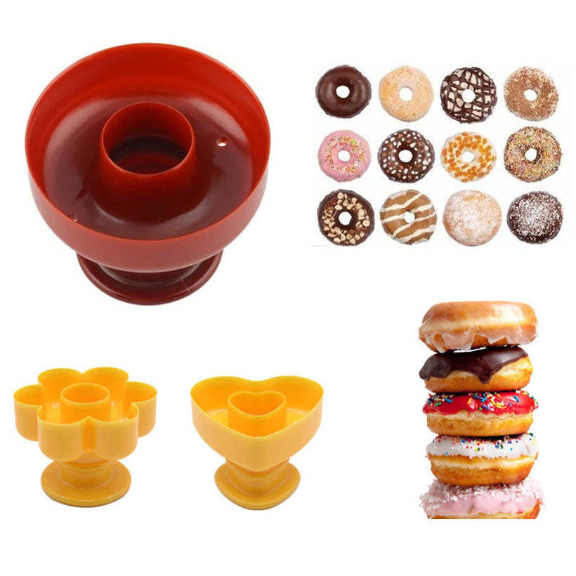 Plastic Mould Donuts Maker Bakery Tool - Fashion, Beauty, Home & Garden & More @Nesavastore