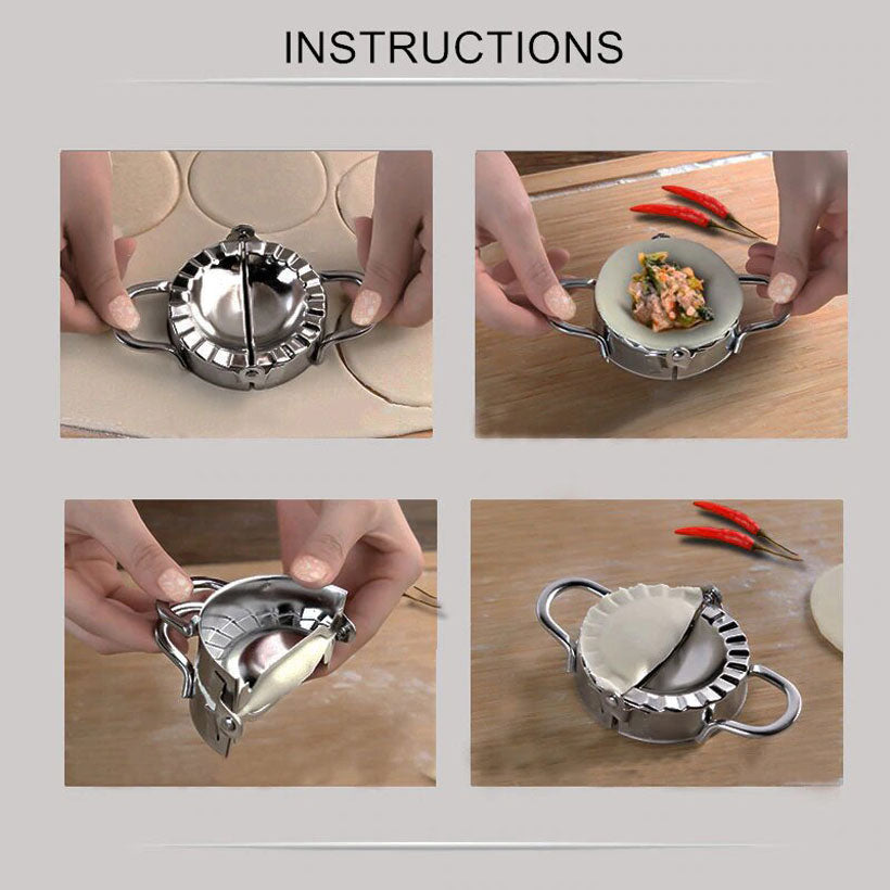 Easy DIY Mold Dumpling Wrapper Cutter Tool