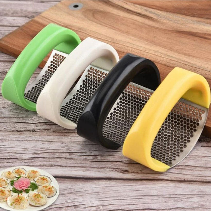 Stainless Steel Garlic Presses Mincer Chopping Tools - Fashion, Beauty, Home & Garden & More @Nesavastore
