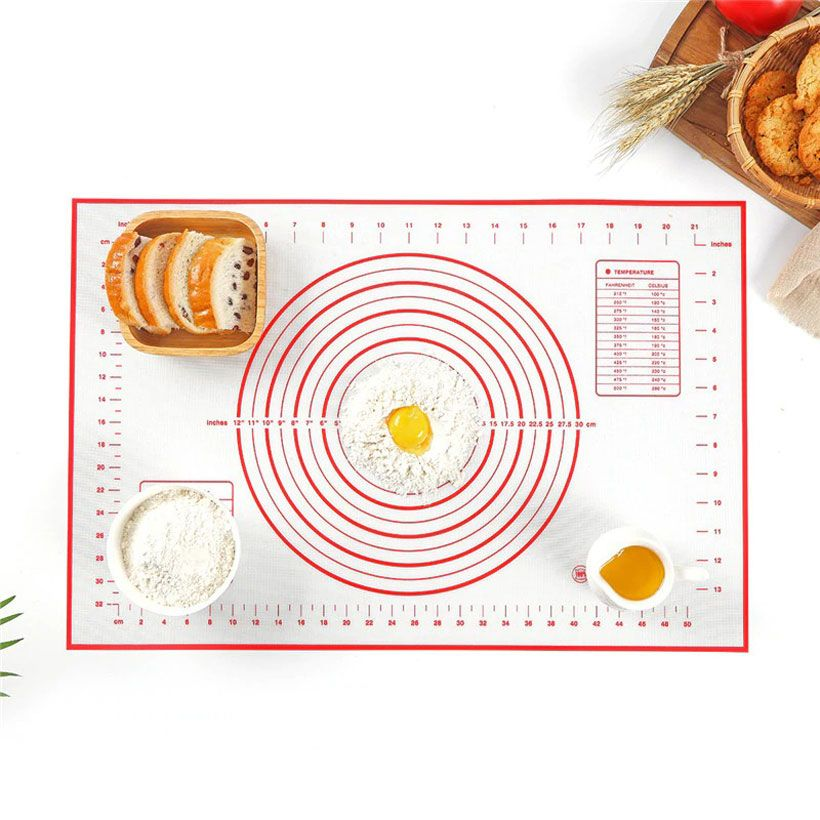 Silicone Baking Mat Pizza Dough Maker Cooking Tools - Fashion, Beauty, Home & Garden & More @Nesavastore