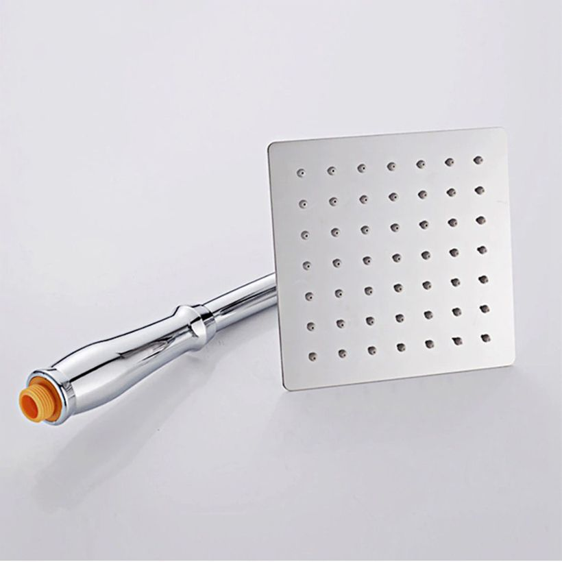 Water Saving Stainless Steel Rain Shower Head - Fashion, Beauty, Home & Garden & More @Nesavastore