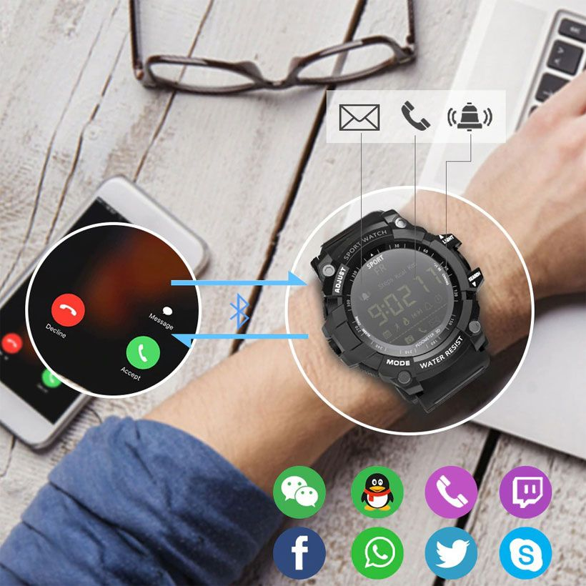 Pedometer Smart Watches, Bluetooth Watches