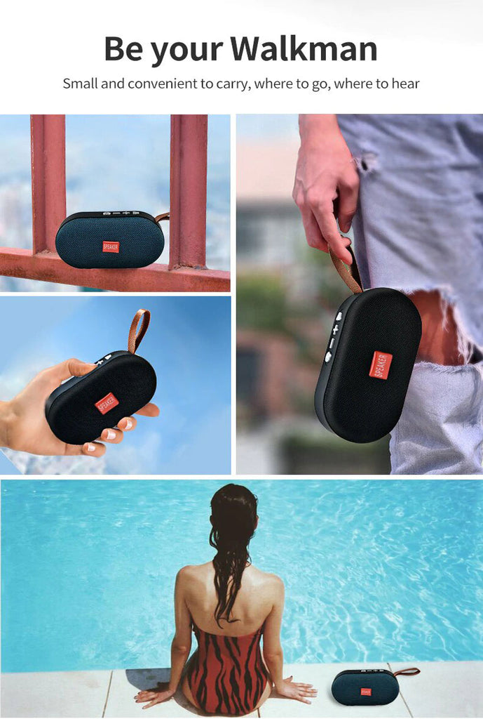 T7 Mini Bluetooth Speaker Portable Wireless Loudspeaker - Shop Electronics, Fashion, Beauty, Home & Garden & More @Nesavastore