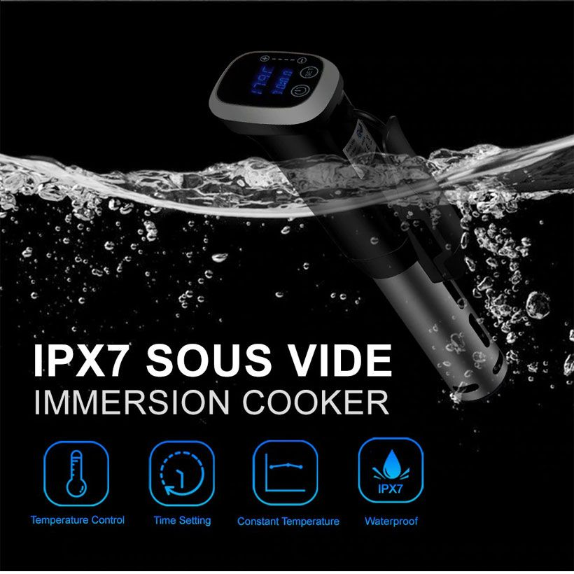 2nd Generation IPX7 Waterproof Vacuum Sous Vide Cooker - Fashion, Beauty, Home & Garden & More @Nesavastore