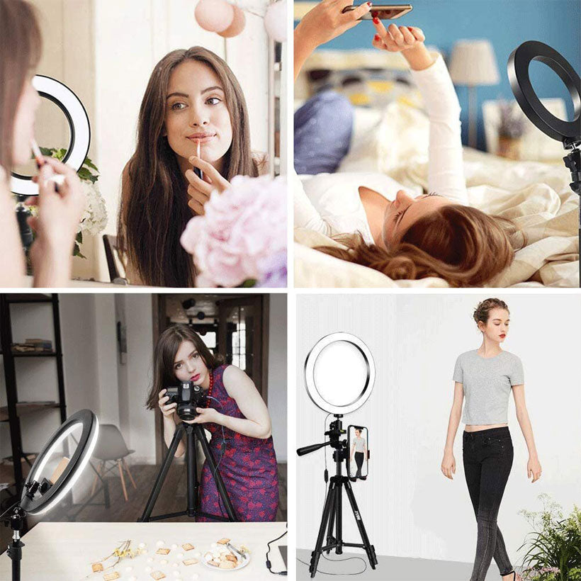 Selfie Led Ring Light With Tripod - Shop Electronics, Fashion, Beauty, Home & Garden & More @Nesavastore