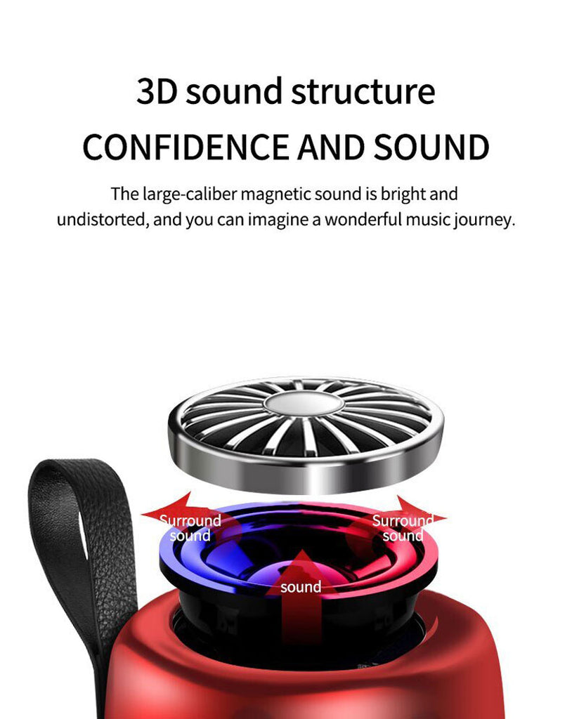 Mini Couplet 3D Stereo Outdoor Bluetooth Speaker - Shop Electronics, Fashion, Beauty, Home & Garden & More @Nesavastore