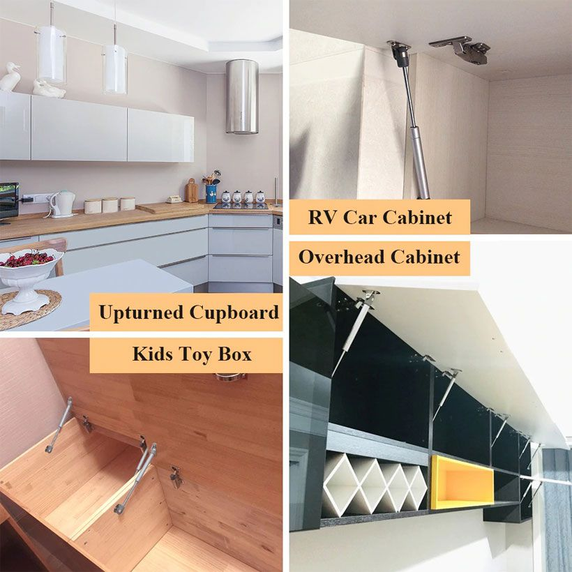 Lift Up Cabinet Doors, Gas Spring Lift Support