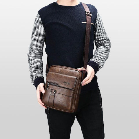 Luxury Brand Men Messenger Bags Crossbody