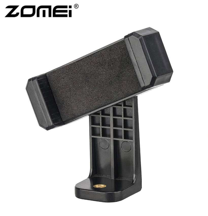 ZOMEI Phone Clipper Holder Vertical 360 Tripod - Shop Electronics, Fashion, Beauty, Home & Garden & More @Nesavastore
