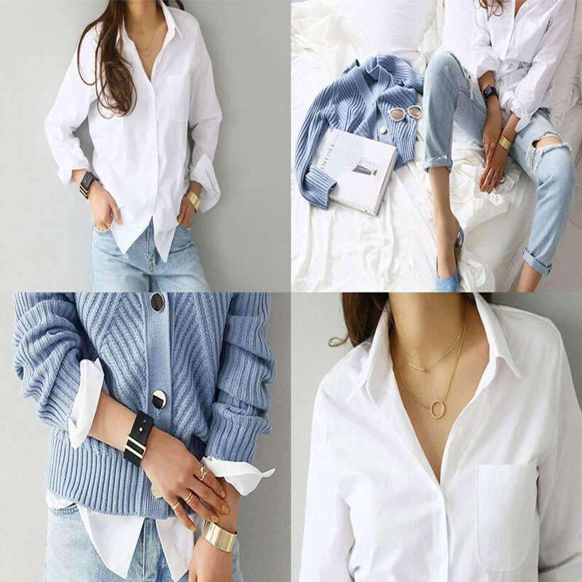 Are you looking for Women's One Pocket Shirt Online? You can get Women's Long Sleeve One Pocket Shirt from Nesava Store at the best prices.