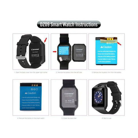 Bluetooth Smart Watch Smartwatch