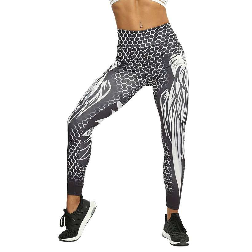 Women Skull Fitness Solid Color Sexy Print Leggings - Shop Electronics, Fashion, Beauty, Home & Garden & More @Nesavastore