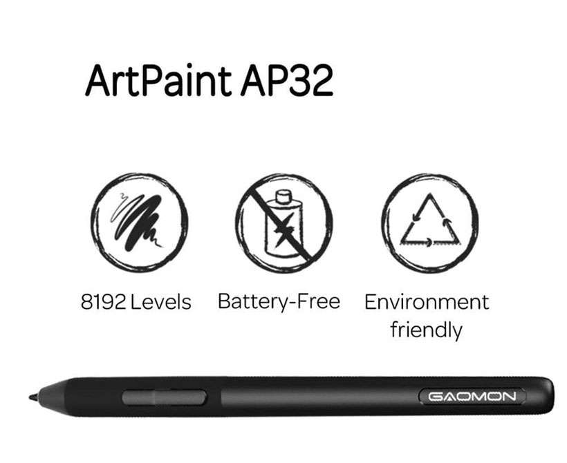 Art Paint AP32 Levels Pressure Passive Stylus Pen - Shop Electronics, Fashion, Beauty, Home & Garden & More @Nesavastore