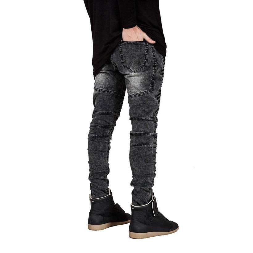 Men's Fashion Skinny Runway Jeans