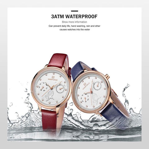 Women Quartz Waterproof Watches