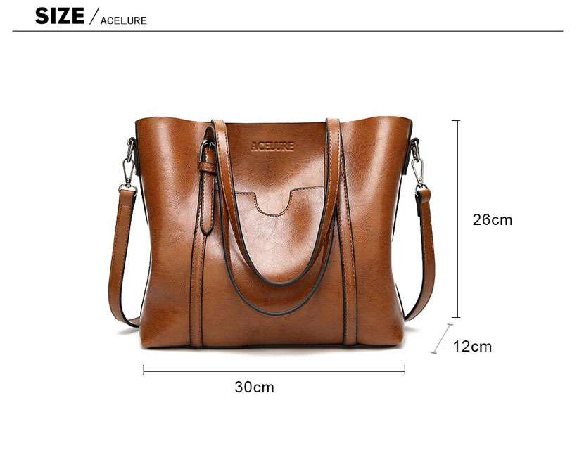 Women's High-Quality Casual Leather Handbags