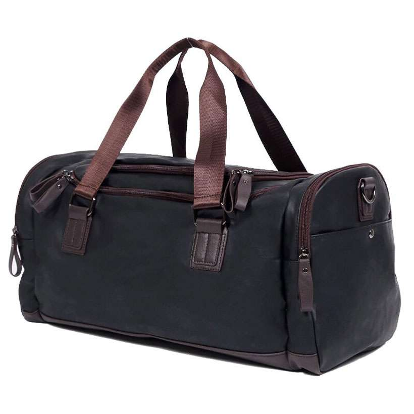 New Casual Large Capacity Leather Travel Duffel Bag - Shop Electronics, Fashion, Beauty, Home & Garden & More @Nesavastore