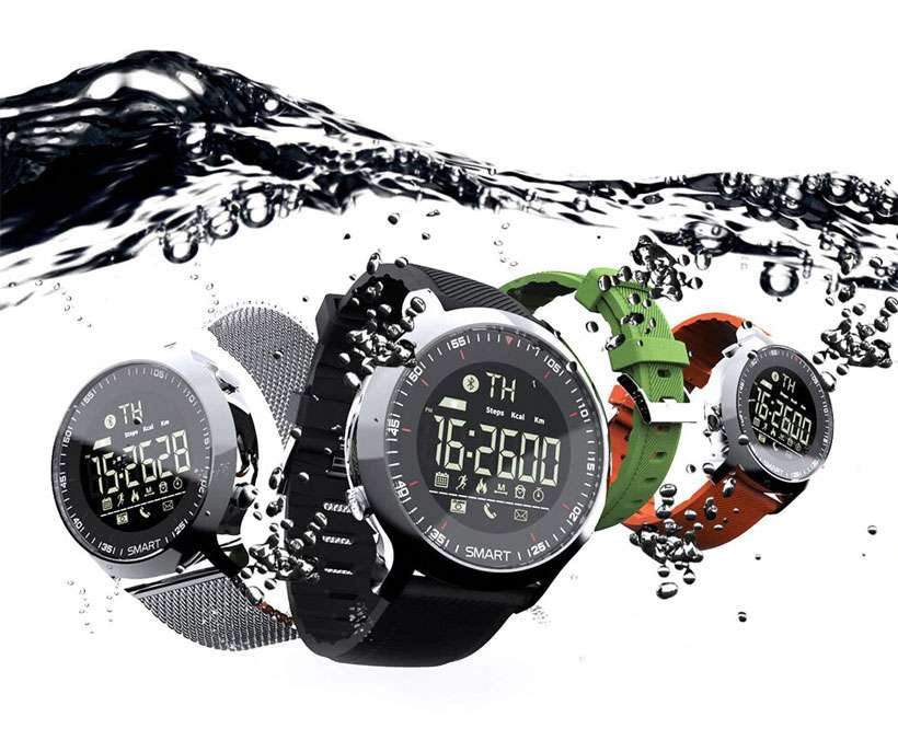 Waterproof Pedometers Swimming Smart Watch - Shop Electronics, Fashion, Beauty, Home & Garden & More @Nesavastore
