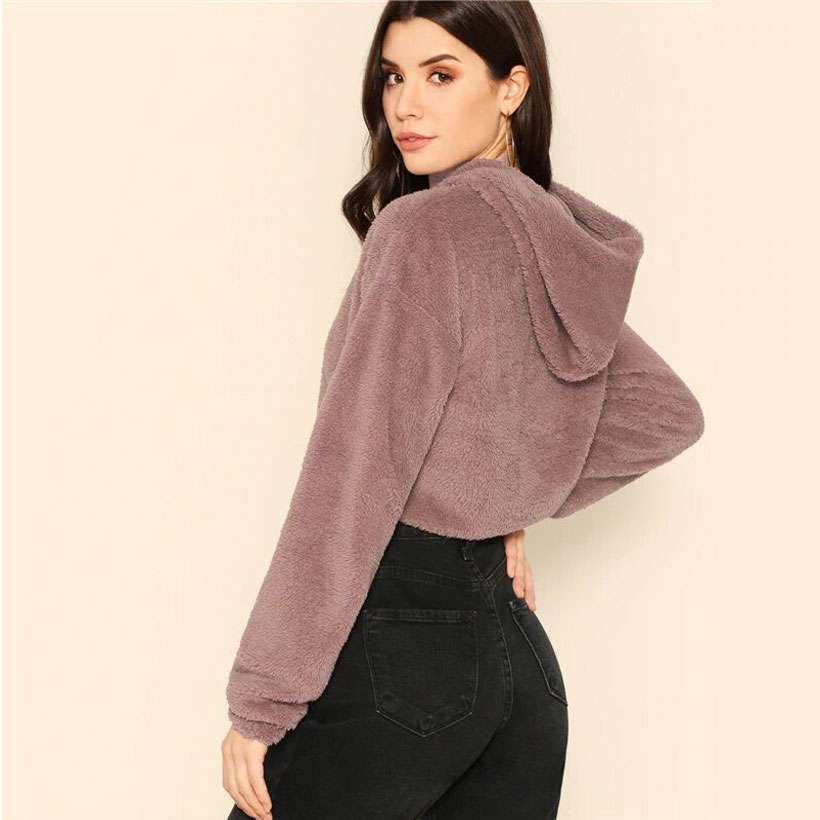Women's Minimalist Drop Shoulder Hoodies - Shop Electronics, Fashion, Beauty, Home & Garden & More @Nesavastore