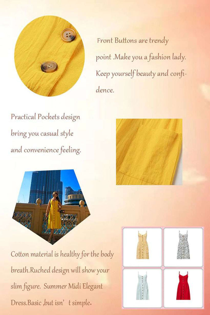 Are you looking for Women's Simplee Cotton Dress Online? You can get Women's Simplee Elegant Cotton Dress from Nesava Store at the best prices.