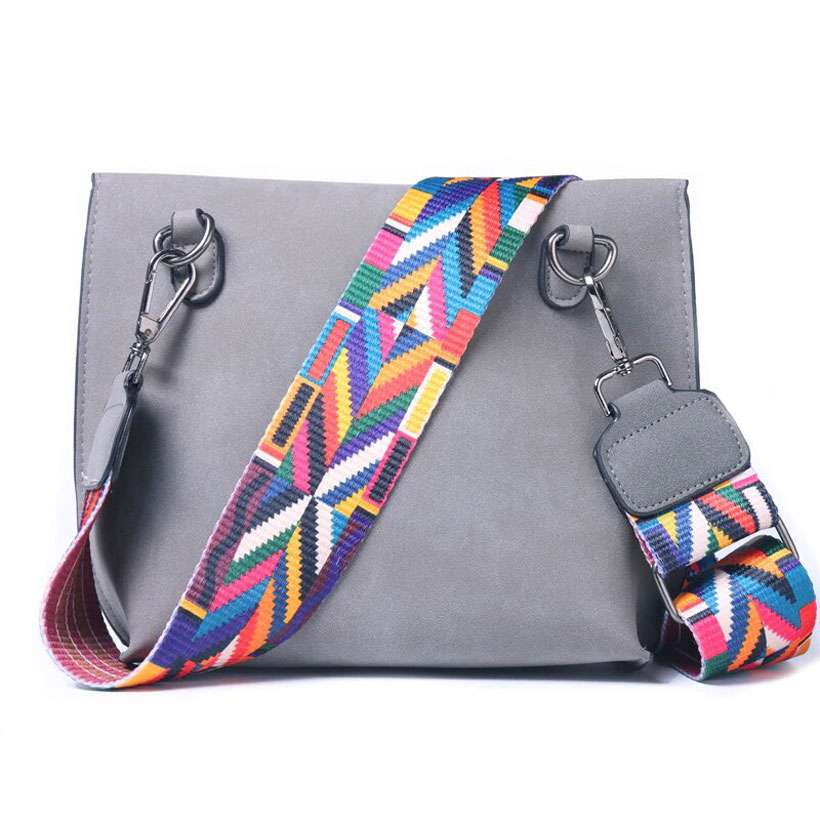 Women's Colorful Strap Designer Handbags