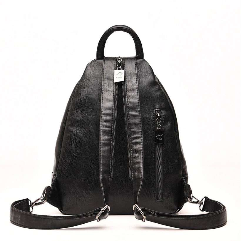 Women Vintage School Leather Backpack - Shop Electronics, Fashion, Beauty, Home & Garden & More @Nesavastore