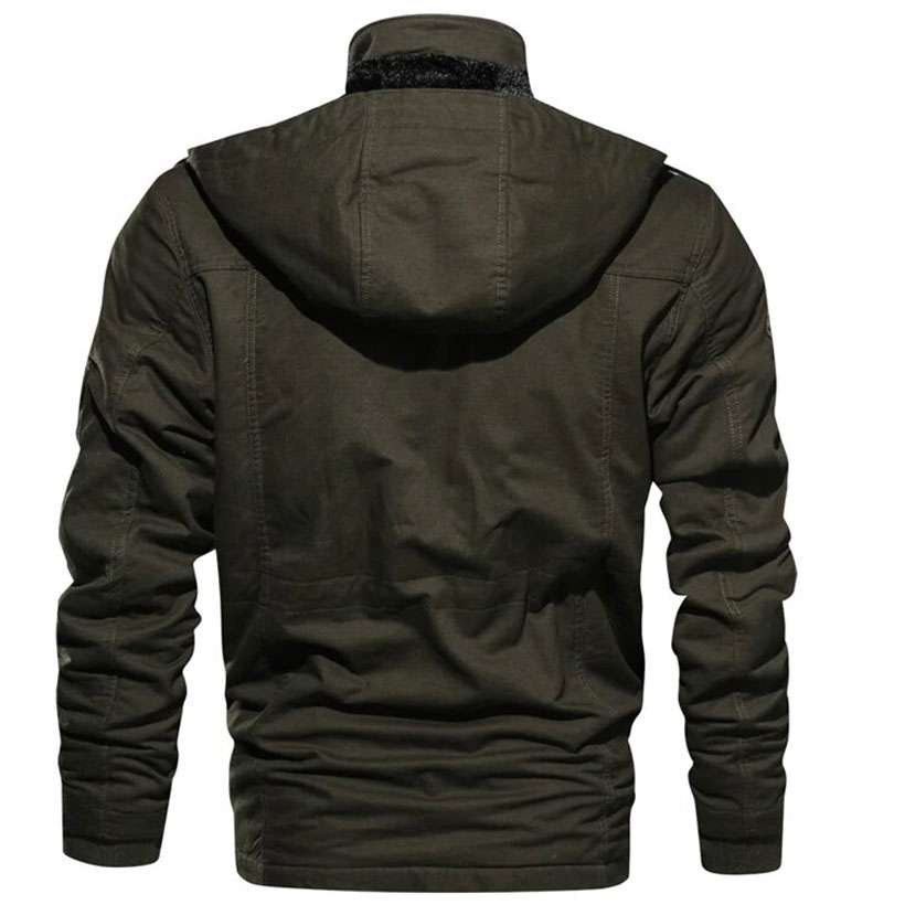 Men's Warm Hooded Coat Thermal Jackets - Shop Electronics, Fashion, Beauty, Home & Garden & More @Nesavastore