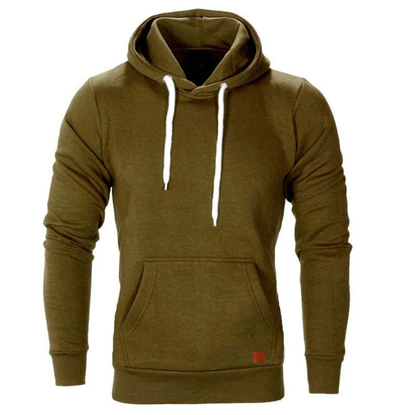 Men's Long Sleeve Casual Hoodies- Shop Electronics, Fashion, Beauty, Home & Garden & More @Nesavastore