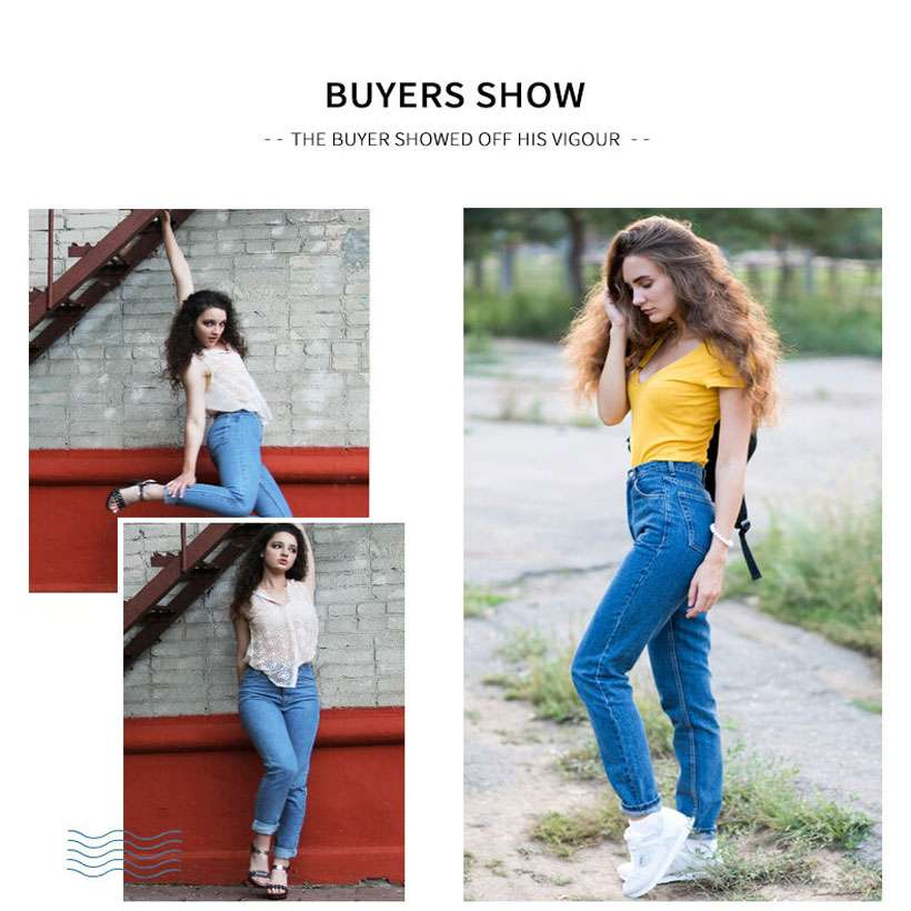 Women Harem Slim Vintage High Waist Jeans - Shop Electronics, Fashion, Beauty, Home & Garden & More @Nesavastore
