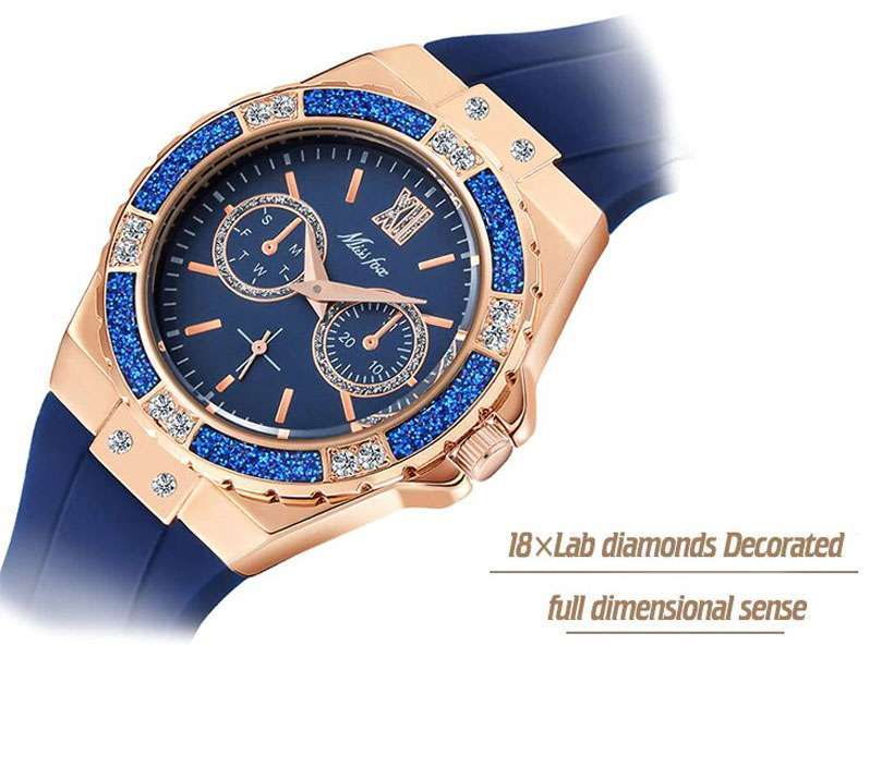 Women's Chronograph Rose Gold Sport Watches - Shop Electronics, Fashion, Beauty, Home & Garden & More @Nesavastore