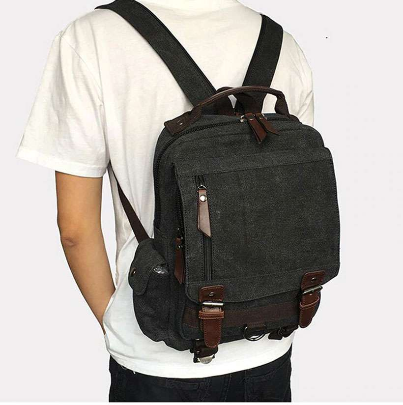 Small Travel Backpack, Multifunctional Backpack