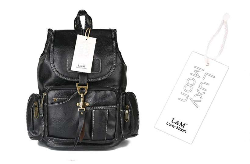 Women Drawstring High-Quality Leather Backpack - Shop Electronics, Fashion, Beauty, Home & Garden & More @Nesavastore