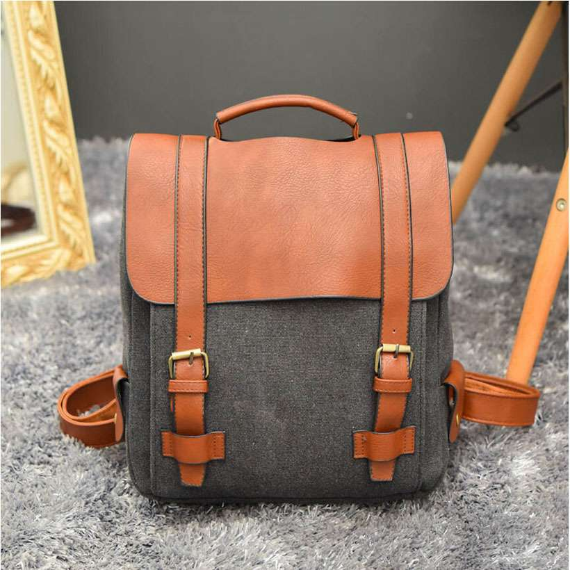 Unisex Large Capacity Vintage Canvas Backpack - Shop Electronics, Fashion, Beauty, Home & Garden & More @Nesavastore