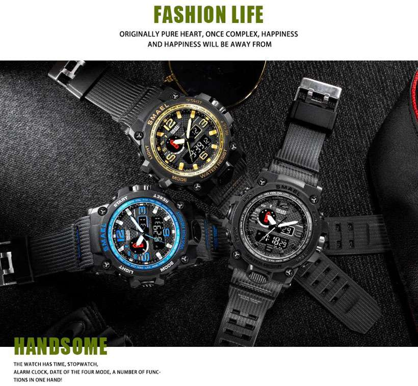 Men's Military Watches, Led Watches