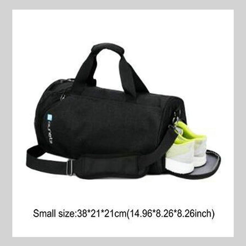 Waterproof Large Gym Bag With Shoe Compartment