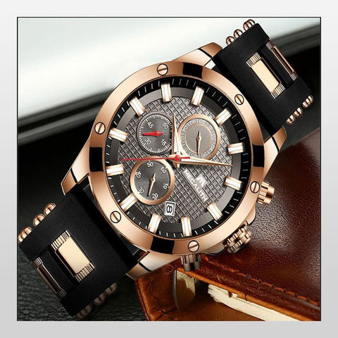 Men Top Brand Luxury Luminous Display Waterproof Watches